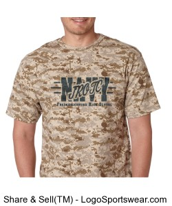 Digital Camo NJROTC Design Zoom
