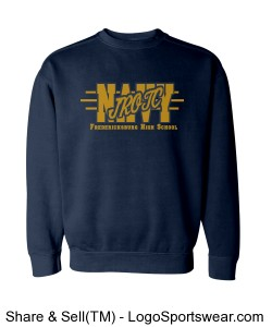 FHS Navy JROTC Sweatshirt Design Zoom
