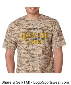 Camo Parent Supporter Design Zoom