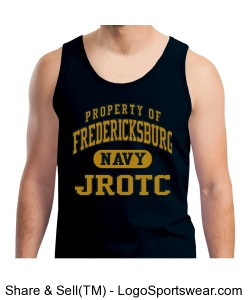 100% Heavyweight Ultra Cotton Tank Top Design Zoom